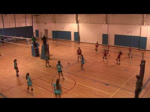 Girls Volleyball Columbia County Sharks vs Reign - May 1, 2017