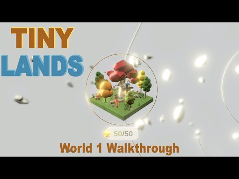 Tiny Lands - World 1 (Outdoors) Walkthrough (Steam/PC) |