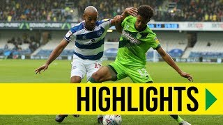 HIGHLIGHTS: QPR 0-1 Norwich City