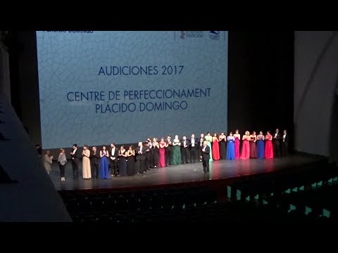 Placido Domingo Presides Final Auditions of Young Artists Program in Valencia (Jul 12, 2017)