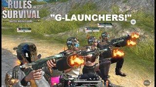 """G-LAUNCHERS!"" Stream highlights #2 (ROS BISAYA)"