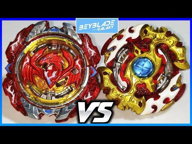 Revive Phoenix .10.Fr vs Spriggan Requiem .0.Zt - Beyblade Burst ??????????