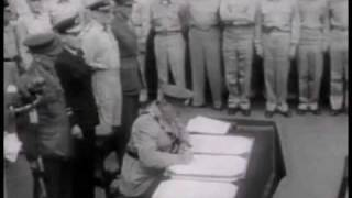 Japanese Sign Final Surrender, 1945