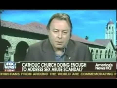 Christopher Hitchens - On FOX News with Bill Donohue discussing the Catholic sex scandals