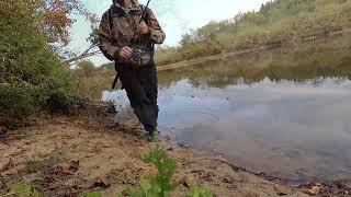 Прогулка, рыбалка, р. Б. Кокшага. Осень 2018 г.