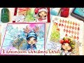 Christmas Girl Mix'n'Match Stamps - Part 2 - the Christmas Cards
