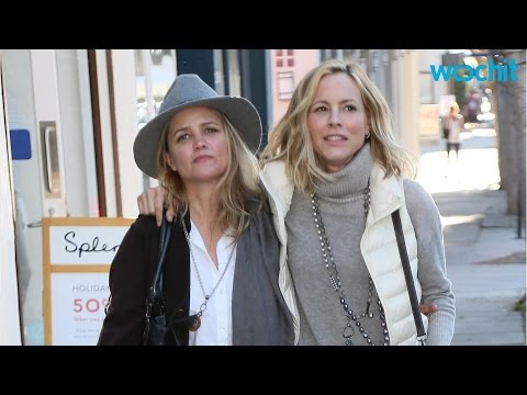 Maria Bello and Longtime Girlfriend Pack on Sweet PDA During Stylish Holiday Shopping Spree