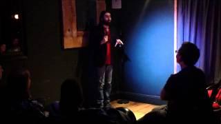 Steffan Alun closing the Lazy Dog Comedy Club (Part 1)