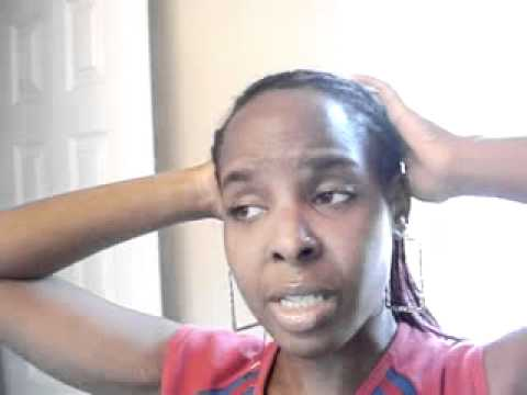 How To Make Your Cornrows Lay Properly With Sewing Thread!!