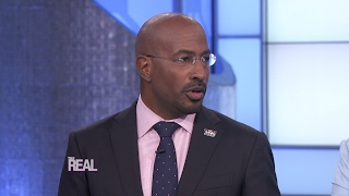 """Wednesday on """"the real,"""" cnn political commentator van jones stops by and shares his take our nation's current culture. find out how he says wom..."""