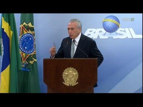 Brazil's Temer: 'I will not resign'