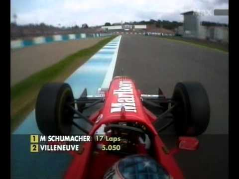 1997 European Grand Prix Michael Schumacher Onboard
