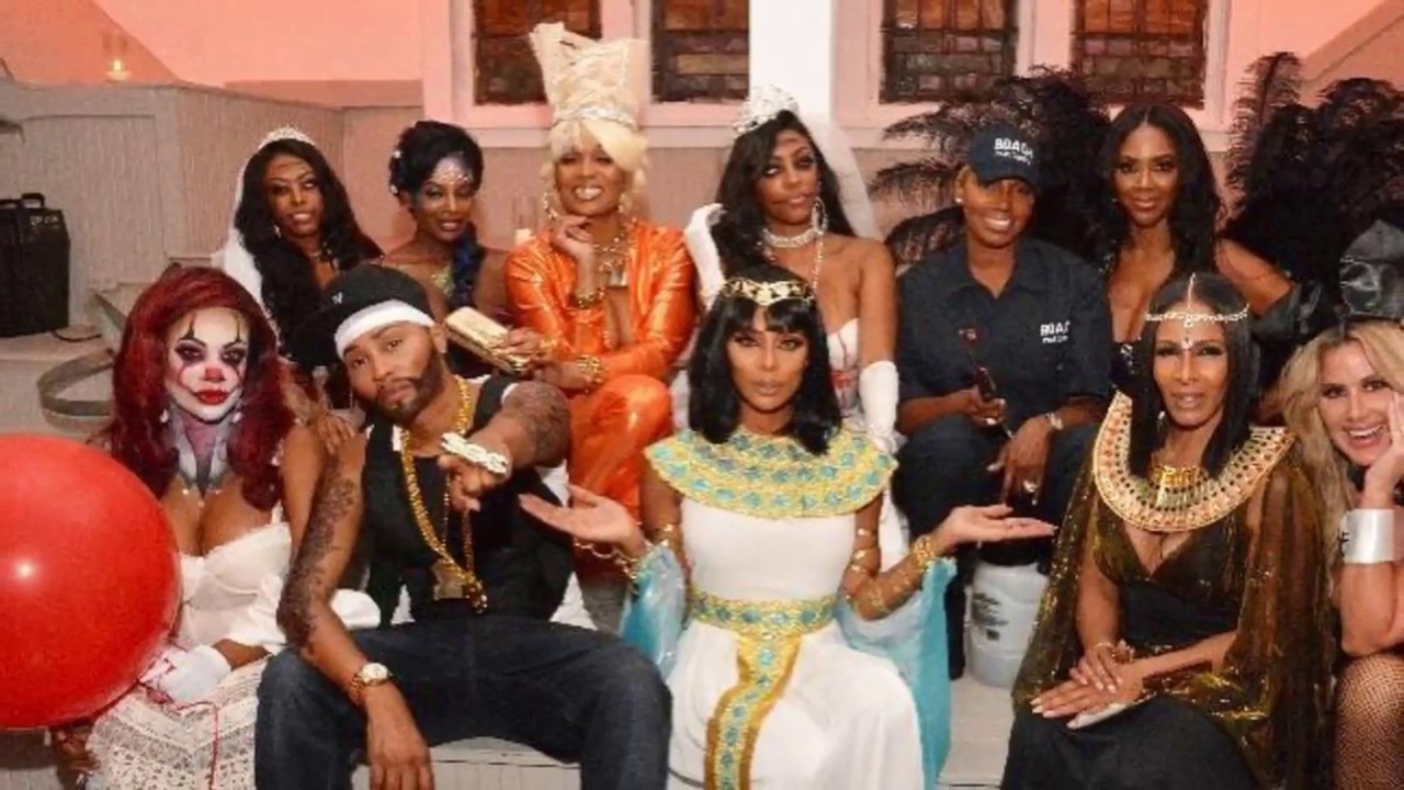 The Real Housewives of Atlanta Halloween Costume Party - YouTube