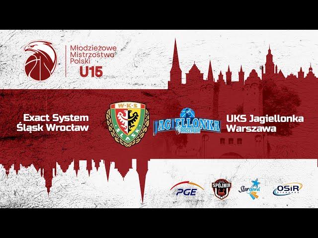 Exact System Śląsk Wrocław - UKS Jagiellonka Warszawa