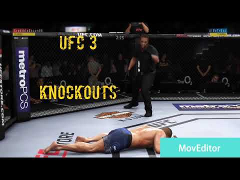 UFC 3 KNOCKOUTS #1 ( HE'S OUT!!!)
