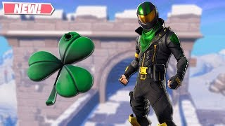 NEW LUCKY RIDER SKIN GAMEPLAY! NEW LEAKED SKINS ON FORTNITE!! FORTNITE BATTLE ROYALE!!!