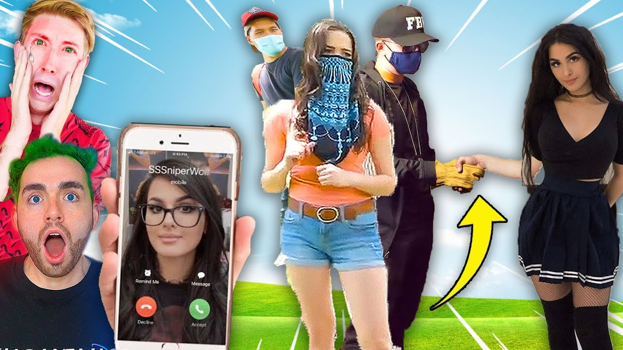 CALLING SNIPERWOLF! **OMG SHE is WITH PROJECT ZORGO & ALIE** 😱 (Spy Ninjas Vy Qwaint Chad Wild Clay)