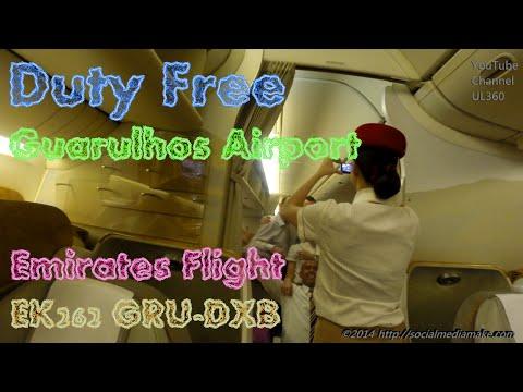 Audacious Sao Paulo | Congenial Guarulhos Airport | Duty Free | Amsterdam Sauer | 777-300 | EK262 #2