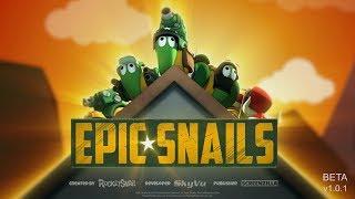 🐌 Epic Snails | Ganz schön schleimig an der Front | Deutsch Gameplay German Let's Play Deutsch thumbnail