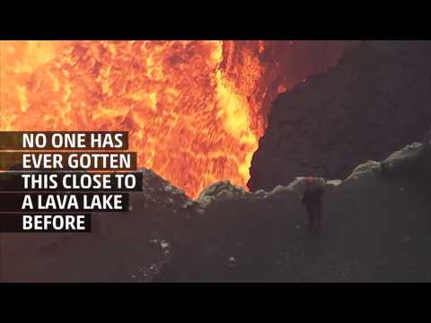 Weather Gone Viral: Lava Lake Photographer