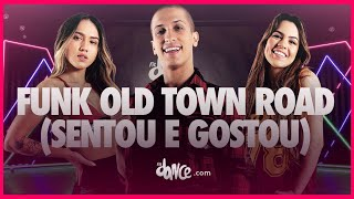 FUNK OLD TOWN ROAD (Sentou e Gostou)  - Cowboys do Mandelão, MC JottaPê, MC M10 e DJ RD | FitDance