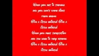 Pinocchio-Give A Little Whistle Lyrics Resimi