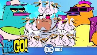 Teen Titans Go! Россия | Пересмешники | DC Kids