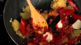 Кухня Китая. Свинина по-китайски(Мировой повар. Пошаговый рецепт: http://www.tveda.ru/recepty/svinina-po-kitayski/, 2013-12-06T07:16:41.000Z)