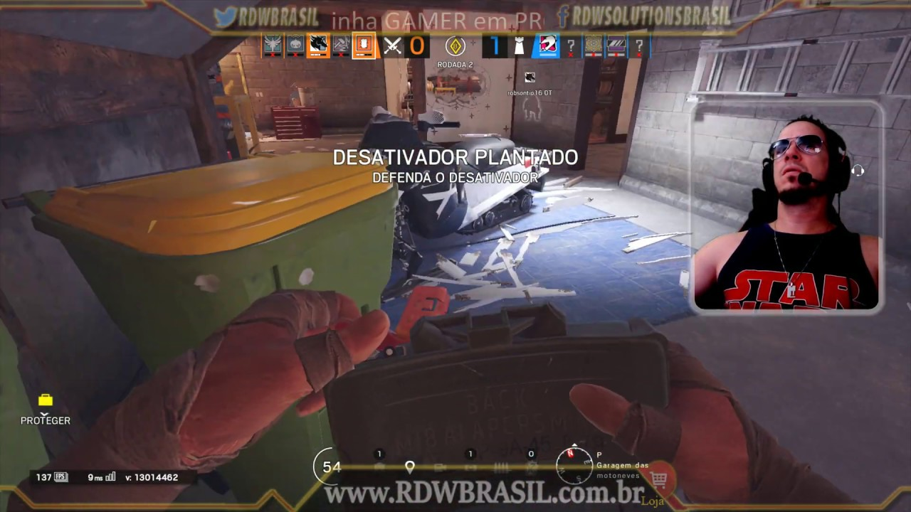 🔴[Live] How is the first siege live at 4K 144Hz? - Rainbow Six Siege -  [4K-144hz] #rdwbrasil