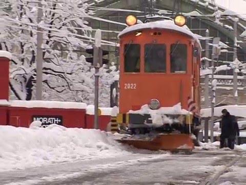 Basel im Schnee - März 2006