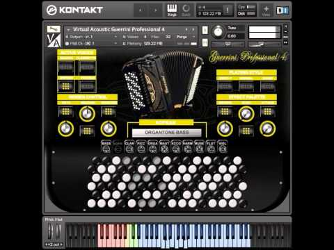 Virtual Acoustic - Guerrini Professional 4 accordion for NI Kontakt VST
