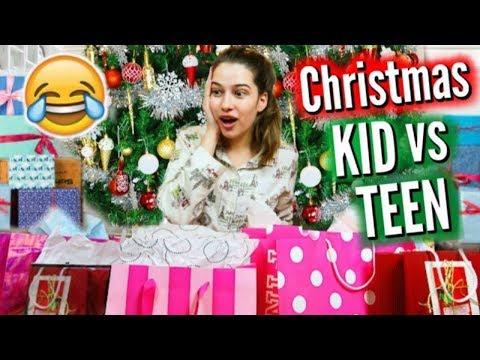 Kid Vs. Teen Christmas | Then Vs. Now!