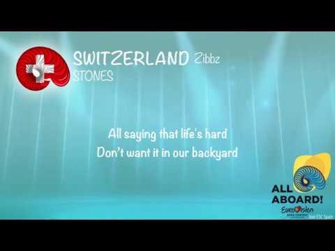 Zibbz - Stones (Switzerland) [LYRICS] Eurovision 2018