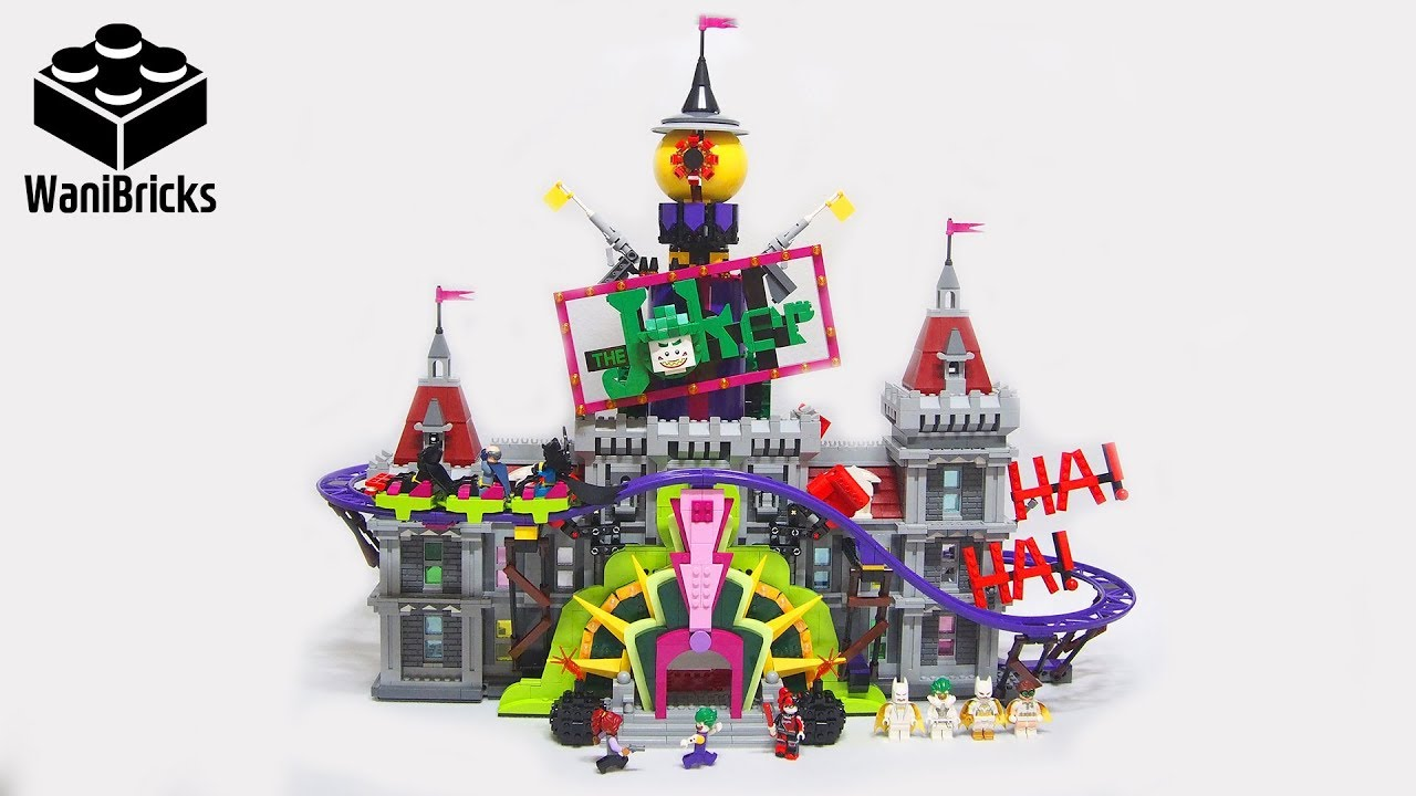 the lego batman movie 70922 the joker manor lego speed. Black Bedroom Furniture Sets. Home Design Ideas