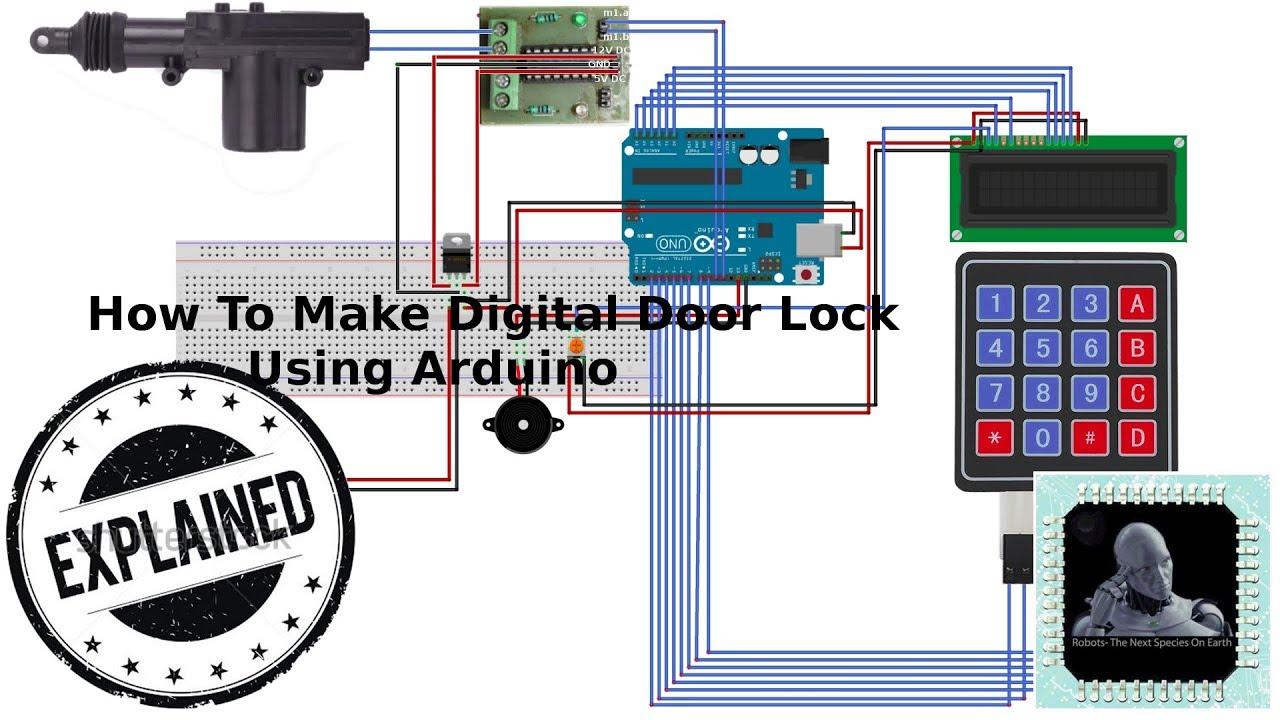How To Make Digital Door Lock Using Arduino