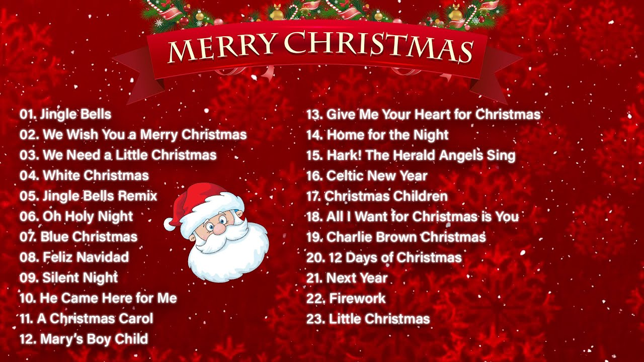 Best Christmas Songs Playlist Christmas Music 2021 Top Christmas Songs Mix Youtube