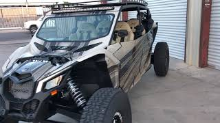 Custom CanAm X3 Built By TMW OFFROAD