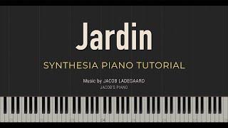 Jardin \\ Jacob's Piano \\ Synthesia Piano Tutorial