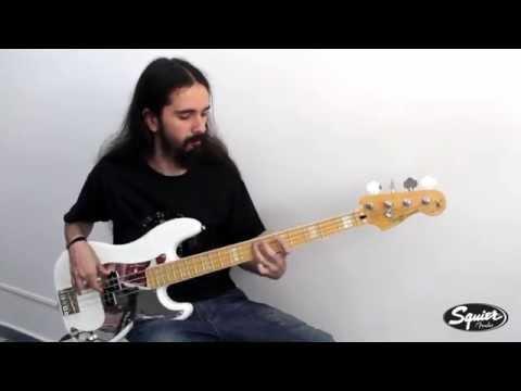 Squier Chris Aiken Precision Bass® [Demo]