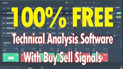 Free Technical Analysis Software With Buy Sell Signals [2018]