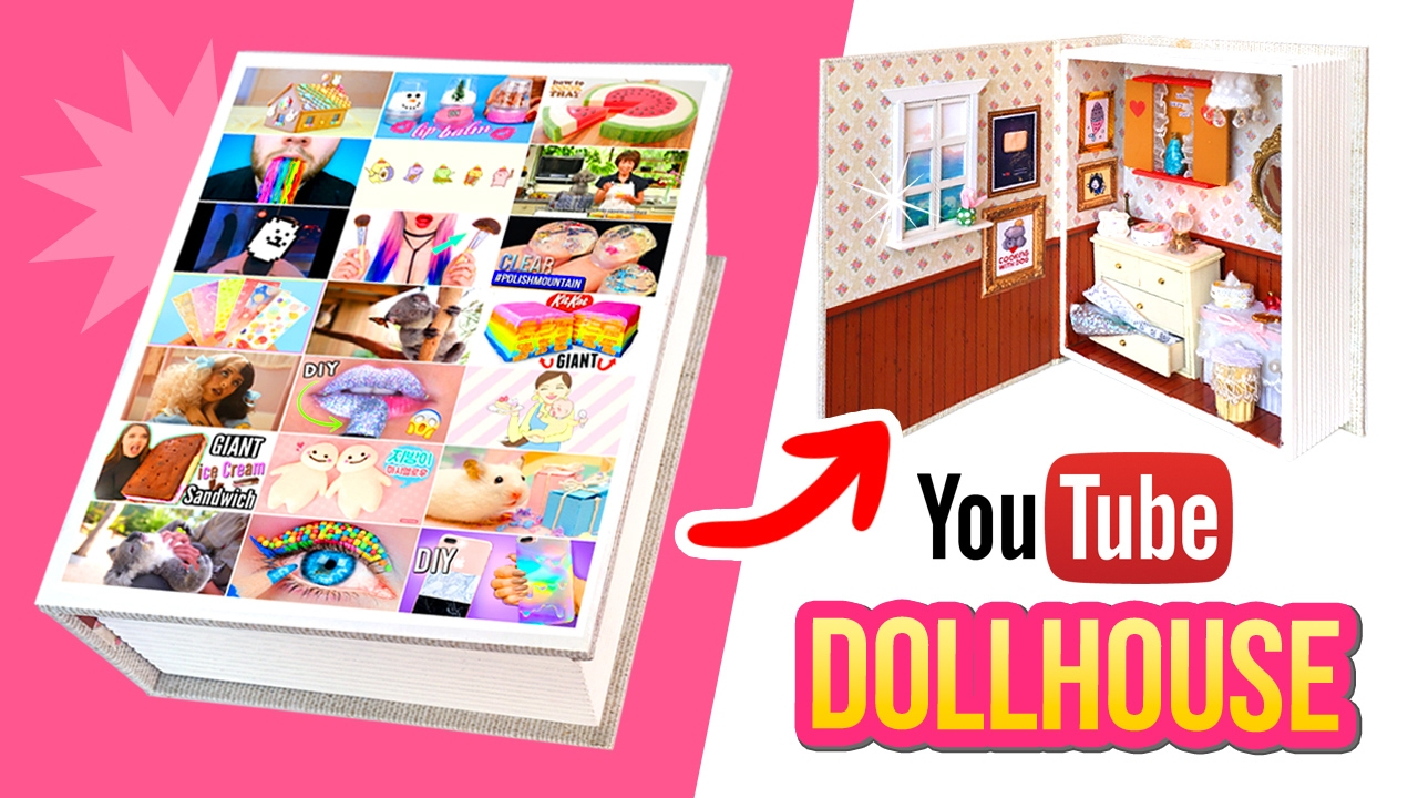 How many YOUTUBERS can you spot in this video??! DIY Youtube Dollhouse! -  YouTube