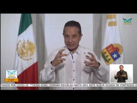 30-Noviembre-2020. SQCS Noticias Primera Emisión.