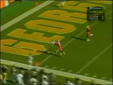 1999 Georgia Tech-Clemson Joe Hamilton to Kelly Campbell #1