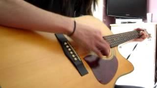 "Thomas Rhett's ""Beer With Jesus"" acoustic guitar cover (strummed)"