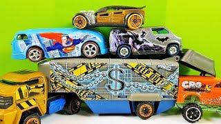 Box Full of Hot Wheels Cars New Cars Hot Wheels Caja llena de coches