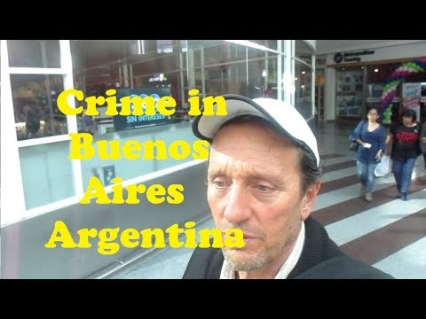 Why Crime in Argentina IS as Bad as You Think - Travel Abroad VLOG