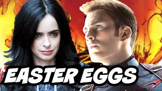 Jessica Jones Episode 1 - 4 Review and Marvel Easter Eggs