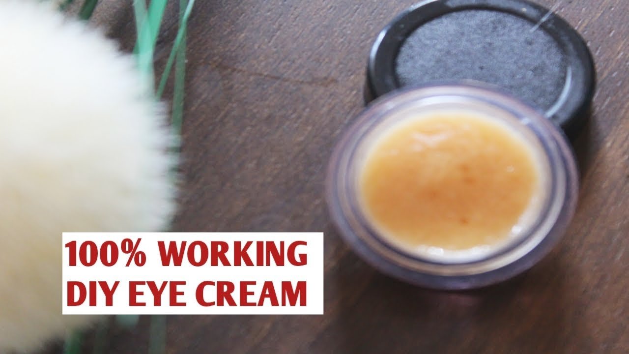 THIS DIY COFFEE EYE CREAM is AMAZING for Dark Circles and ...