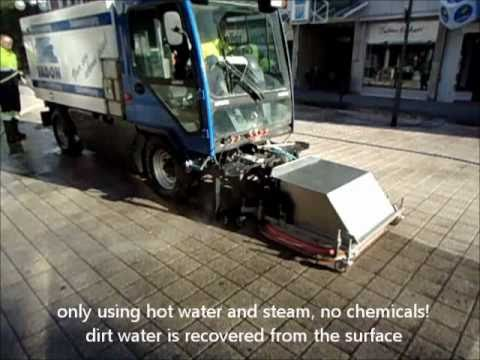 how to clean oil on pavement