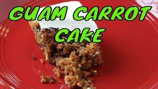 A most delicious Guam carrot cake recipe